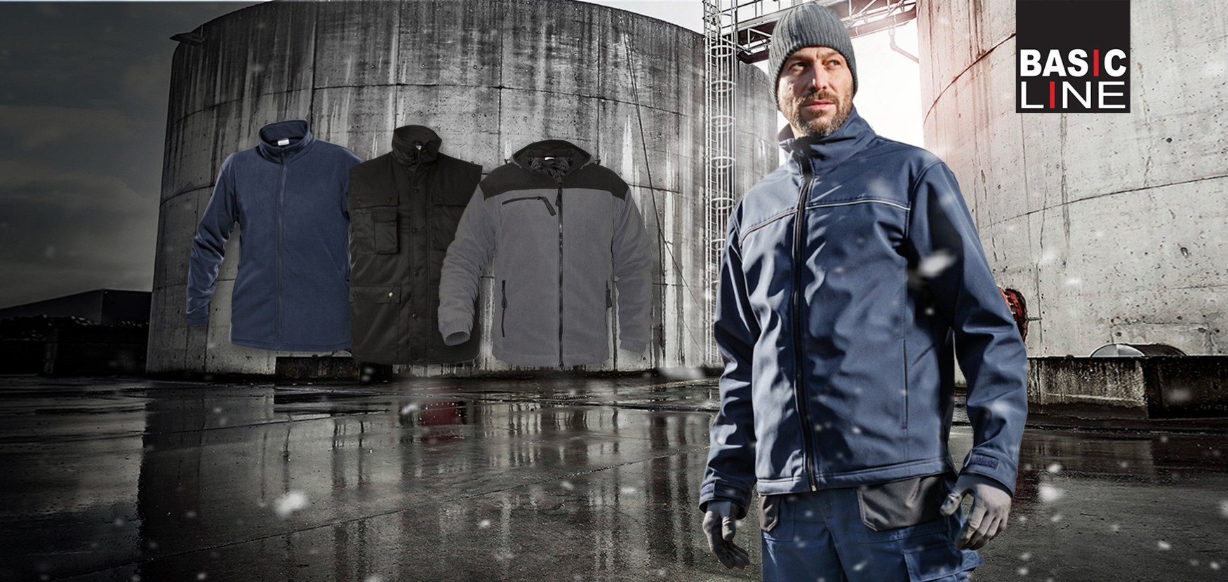 Shop WINTERPROOF WITH BASIC LINE - Keep warm in cold weather#Discover the collection