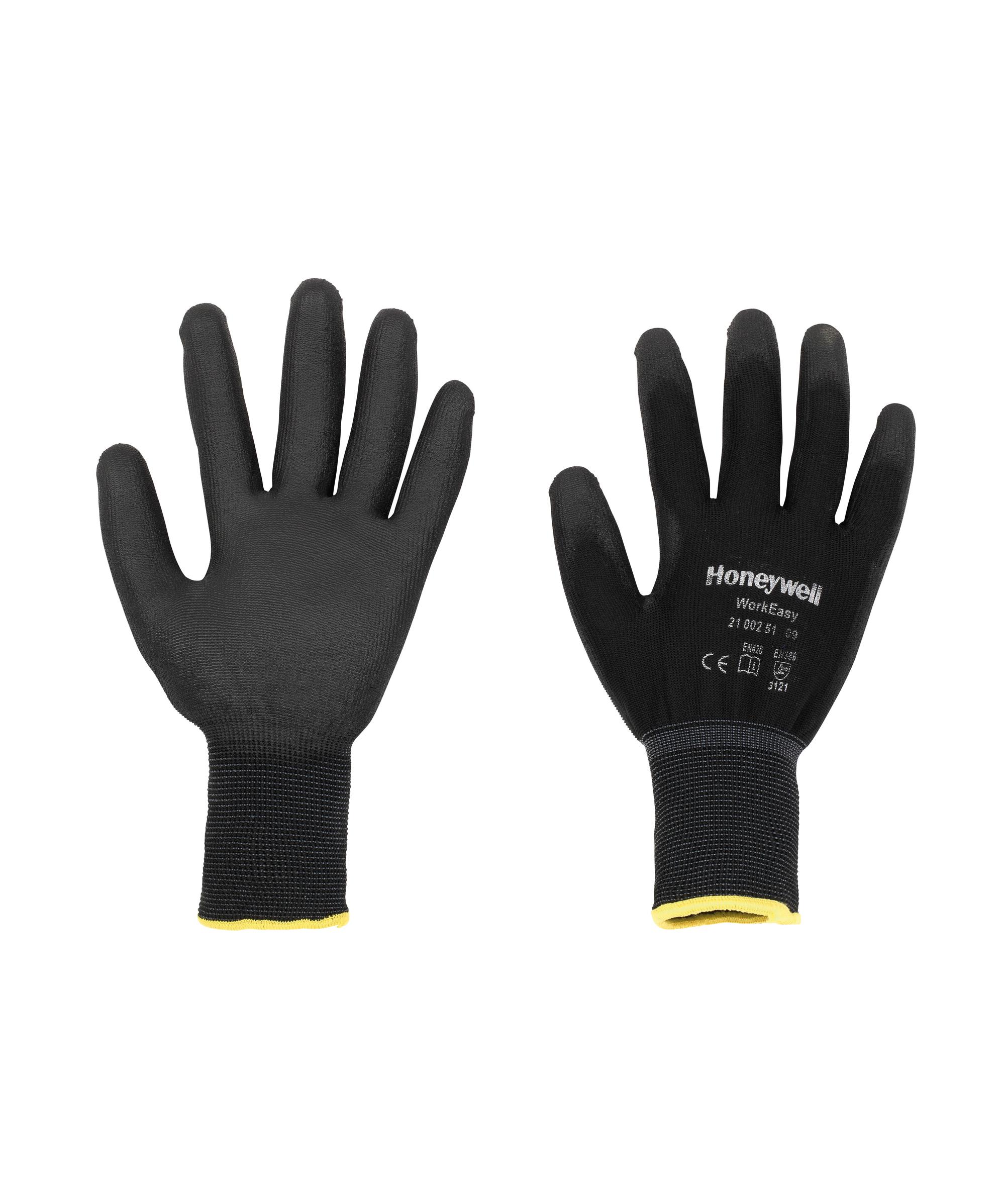 10 Pairs Honeywell PU Coated Black Precision Work Gloves Size 11 XXL 2100251