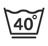 programme de lavage doux 40°